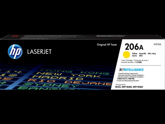 HP 206A Yellow Original LaserJet Toner Cartridge