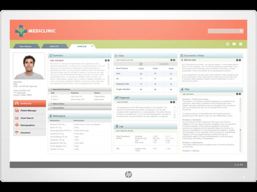 Monitor HP HC241p Healthcare Edition