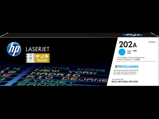 HP 202A 青色原廠 LaserJet 碳粉匣