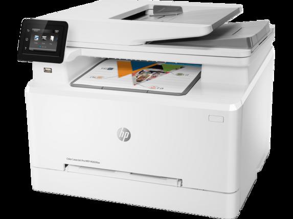 HP Color LaserJet Pro MFP M283fdw - Left