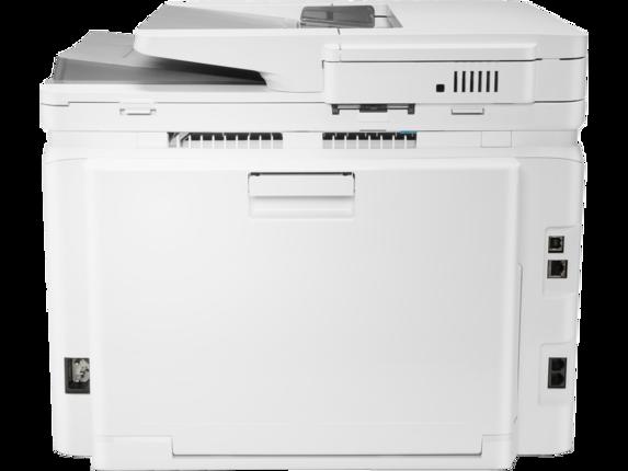 HP Color LaserJet Pro MFP M283fdw - Rear