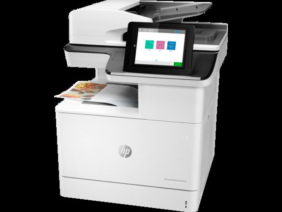 HP Color LaserJet Enterprise MFP M776dn - Left