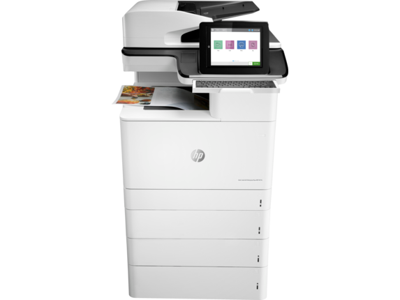 HP Printer|Color LaserJet Enterprise Flow MFP M776z|1024x768 LCD color graphics, smooth gesture, enabled touchscreen Display|3WT91A#BGJ