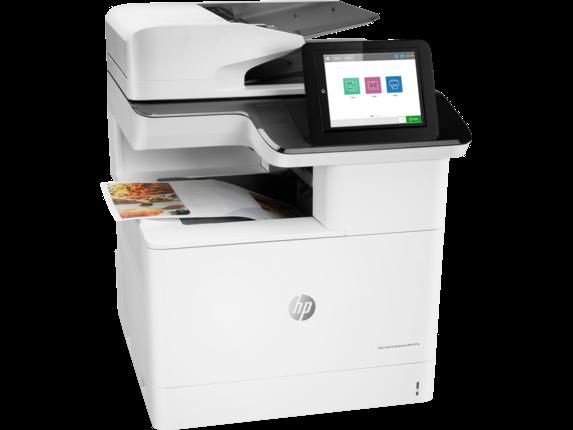 HP Color LaserJet Enterprise MFP M776dn - Right