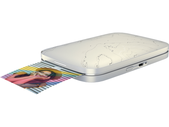 HP Sprocket Select Photo Printer - Left