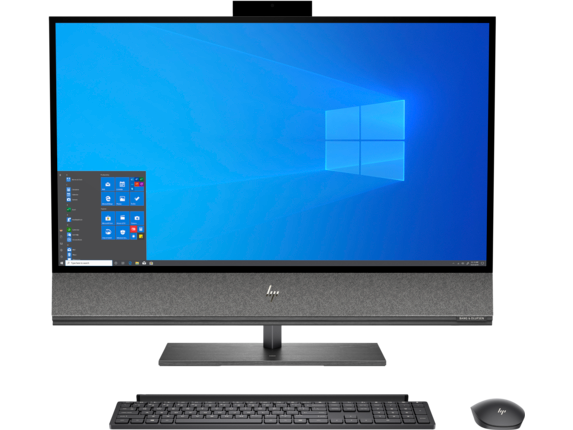 HP ENVY All-in-One - 32-a050 [Windows 10 Home 64, Intel® Core™ i5-9400 Processor, NVIDIA® GeForce® GTX 1650 4 GB, 16 GB memory; 128 GB SSD storage]