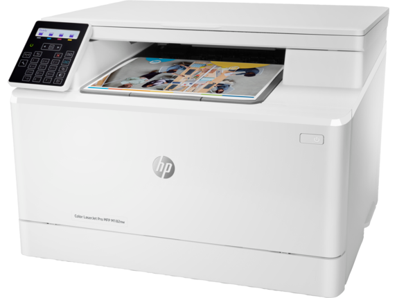 HP Color LaserJet Pro MFP M182nw - Left