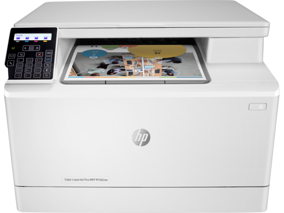 HP Color LaserJet Pro MFP M182nw - Center