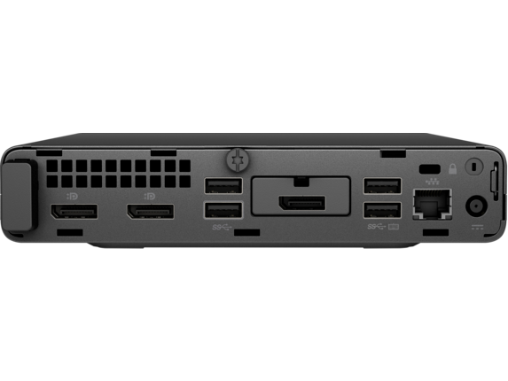 HP EliteDesk 705 G5 Desktop Mini PC - Rear