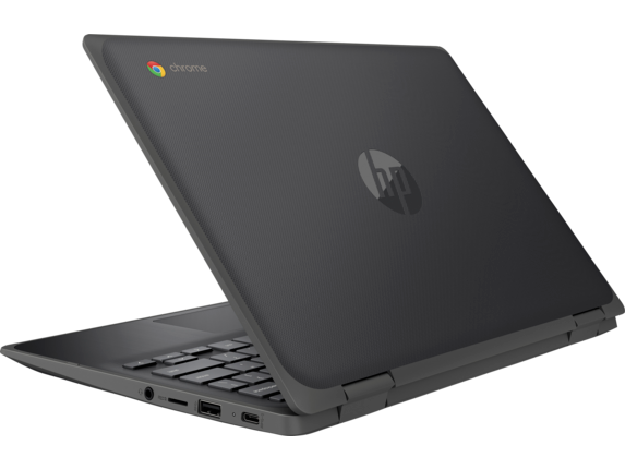 HP Chromebook x360 11 G3 EE Notebook PC - Customizable - Left rear