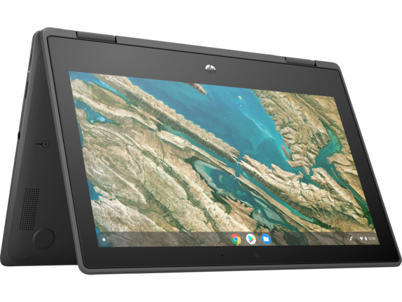 HP Chromebook x360 11 G3 EE Notebook PC - Customizable - Right rear