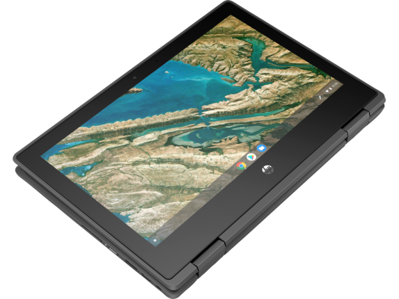HP Chromebook x360 11 G3 EE Notebook PC - Customizable - Top view closed