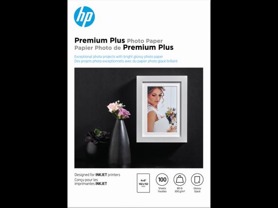 HP Premium 4 X 6 Gloss Photo Paper~50 ct~Borderless~NEW~LABEL~WOW~COOL
