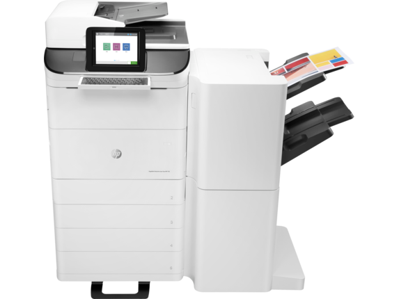 HP PageWide Enterprise Color Flow MFP 785z+|20.3 cm touchscreen, XGA Color Graphic Display|Z5G75A#B1H
