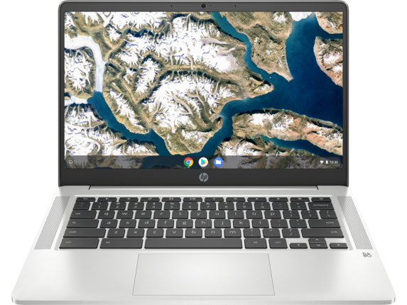 "HP Chromebook - 14a-na0010nr [Chrome OS™, Intel® Celeron® processor, Intel® UHD Graphics 600, 4 GB memory; 32 GB eMMC storage, 14"" diagonal HD display]"