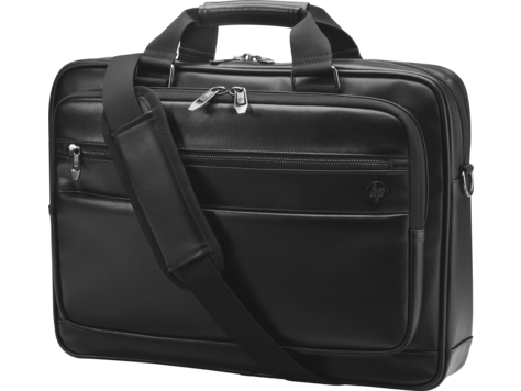 HP Executive leren tas met bovensluiting