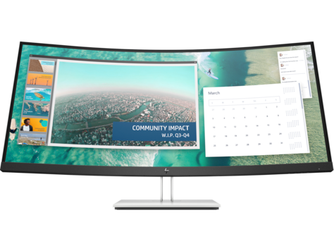 HP E344c 34-inch Curved Monitor