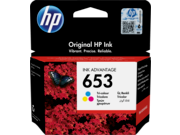 HP 653 színes tintapatron eredeti 3YM74AE DJ 6075 6475 nyomtatóhoz (200 old.)