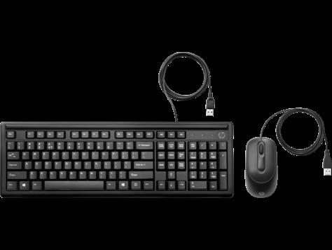 HP trådbundet tangentbord och mus