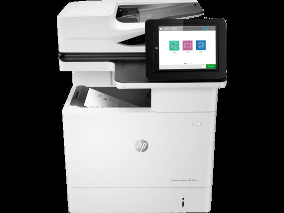 HP Printer|LaserJet Enterprise MFP M636fh|20.3 cm Color Graphics Display|7PT00A#BGJ
