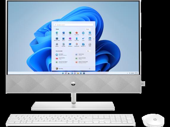 HP Pavilion 24-k1305st Bundle PC|Intel Core i5|256 GB SSD|16 GB DDR4|Windows 10 Home 64|20W66AA#ABA