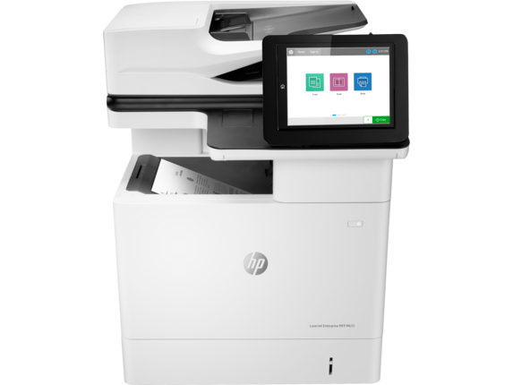 HP Printer|LaserJet Enterprise MFP M635h|20.3 cm Color Graphics Display|7PS97A#BGJ