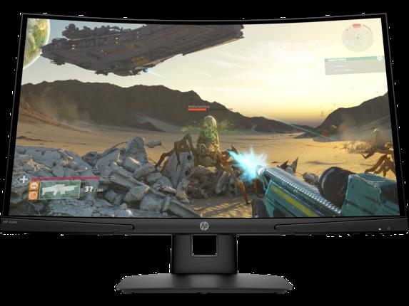 HP X24c Gaming Monitor|9EK40AA#ABA