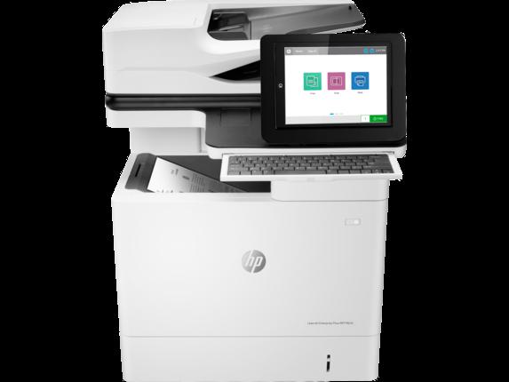 HP Printer|LaserJet Enterprise Flow MFP M634h|20.3 cm Color Graphics Display|7PS95A#BGJ