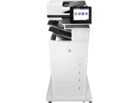 HP Printer|LaserJet Enterprise Flow MFP M635z|20.3 cm Color Graphics Display|7PS99A#BGJ