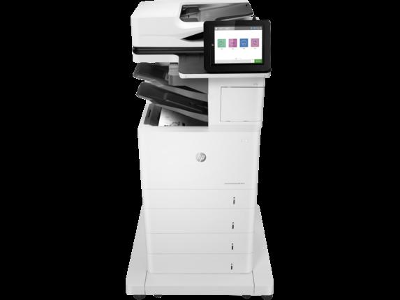 HP Printer|LaserJet Enterprise MFP M634z|20.3 cm Color Graphics Display|7PS96A#BGJ