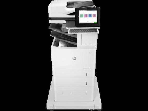 HP Printer|LaserJet Enterprise Flow MFP M636z|20.3 cm Color Graphics Display|7PT01A#BGJ