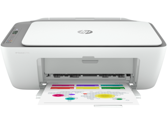HP DeskJet 2755 All-in-One Printer with 4 months free ink through HP Instant Ink|3XV17A#B1F
