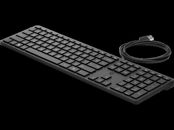 HP Wired Desktop 320K Keyboard|9SR37UT#ABA