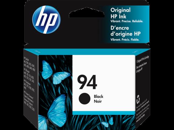 HP 94 Black Original Ink Cartridge, C8765WN#140