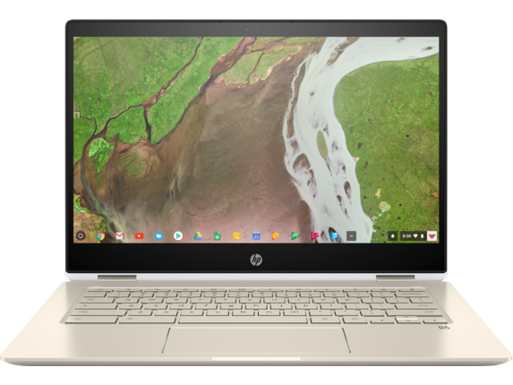 HP Chromebook x360 Convertible Laptop - 14-da0012dx Certified Refurbished|Chrome OS|Intel® Core™ i3 8th Gen|64 GB eMMC|Intel® UHD Graphics 620|8 GB DDR4