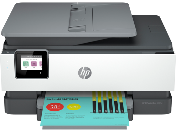 HP OfficeJet Pro 8035e All-in-One Printer