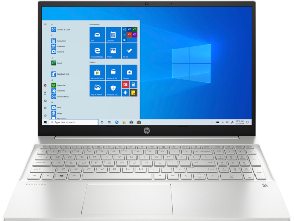 HP Pavilion Laptop 15-eh0010nr|Windows 10 Home 64|AMD Ryzen 5 Processor|512 GB SSD|AMD Radeon™ Graphics|8 GB DDR4|15.6