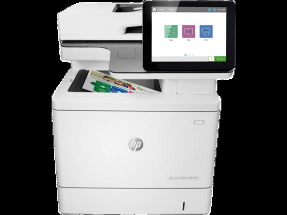 HP Printer|Color LaserJet Enterprise MFP M578dn|8