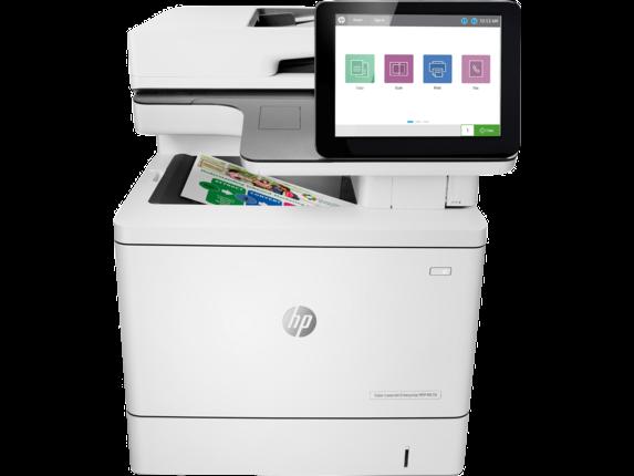 HP Printer|Color LaserJet Enterprise MFP M578f|8