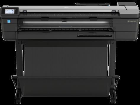 Impressora HP DesignJet T830 série multifuncional