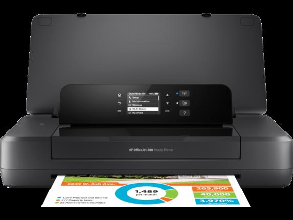 HP OfficeJet 200 Mobile Printer|2.0