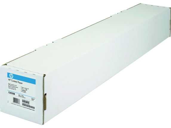 HP Coated Paper-914 mm x 45.7 m (36 in x 150 ft) C6020B-HHO