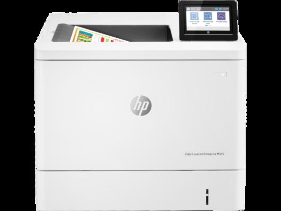 HP Printer Color LaserJet Enterprise M555dn 10.92 cm Color Graphics Display 7ZU78A#BGJ