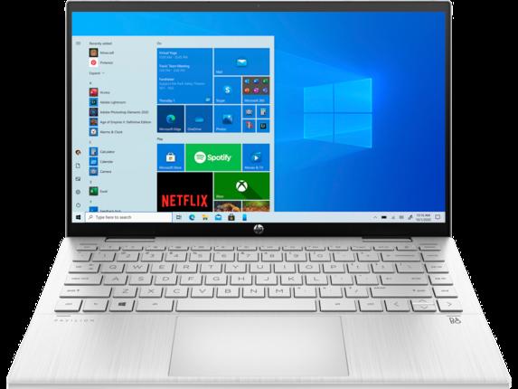 HP Pavilion x360 Convertible Laptop Convertible - 14t-dy000 Touch Screen Windows 10 Home 64 Intel® Core™ i5 11th Gen 512 GB SSD Intel® Iris® Xe Graphics 8 GB DDR4