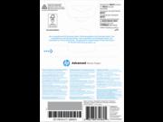 HP Q8692A Fejlesztett fényes fotópapír 250g 10x15 100 lap szegély nélküli nyomtatáshoz