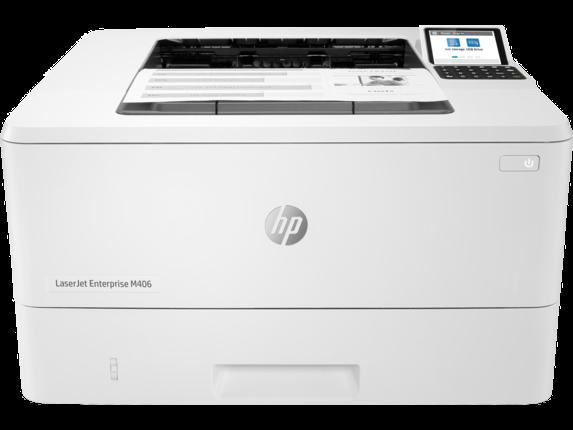 HP Printer|LaserJet Enterprise M406dn|V Display|3PZ15A#BGJ