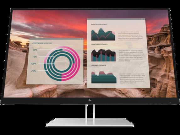 HP E27u G4 QHD USB-C Monitor|189T3AA#ABA