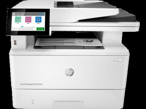 HP LaserJet Managed MFP E42540 series