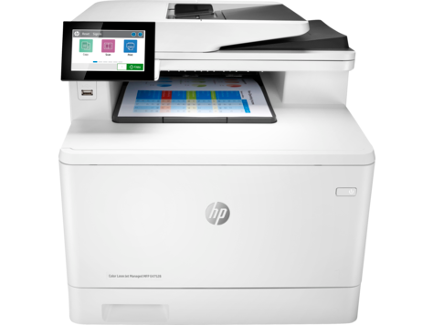 HP Color LaserJet Managed-MFP E47528-Serie