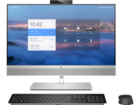 HP Collaboration G6 24 All-in-One with Zoom Rooms